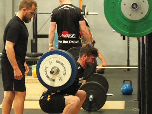 The strength coaches role